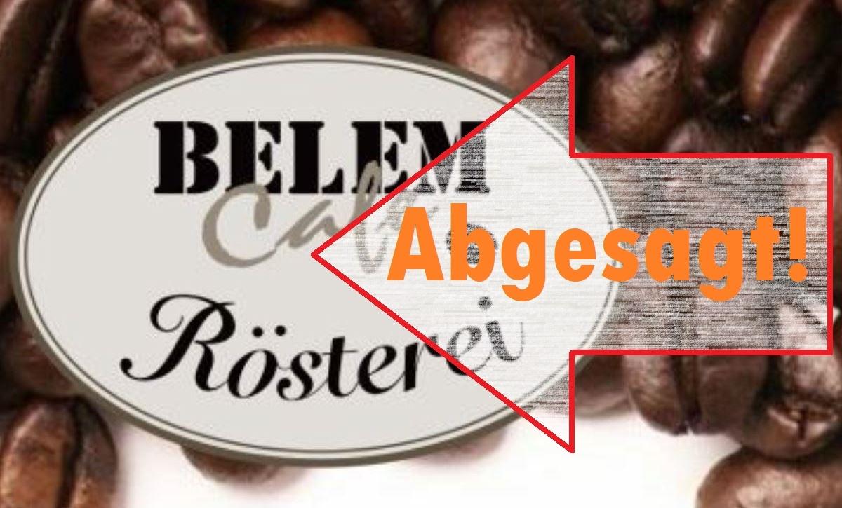 Abgesagt: Besichtigung der Belém Café Rösterei AG