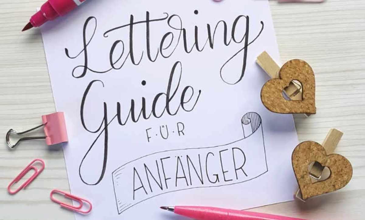 Handlettering-Kurs